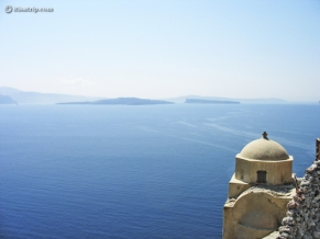 View from Santorini Island, Greece