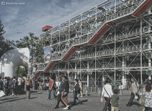 Pompidou Centre, Paris, France